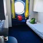 Cabin On board the Amourique Ferry