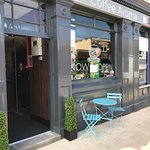 Coffee house in the market town of Oakengates