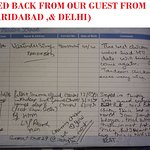 FEED BACK FROM OUR GUEST FROM (DELHI)) & FARIDABAD