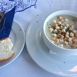 the mushroom soups almost had no mushrooms - just a mushroom taste