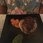 Steak with Grilled Fois Gras