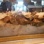 Oysters at the raw bar