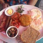 Full on breakfast for brunch