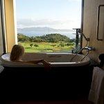 Bathtub with a view!