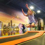 Our indoor trampoline park is a great place to let go of some energy. - Peoria