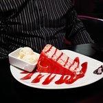 'Strawberry Fresh Cream Gateaux'
