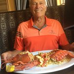 The lobster special on my 79th birthday