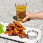 Rhino + Wing Wednesday - $7.50 wings and $4 sleeves of beer every Wednesday!