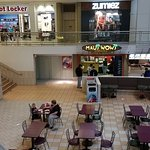 In the Food Court near JCPenney