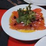 Smoked salmon in Genil Restaurant