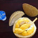 Durian with water