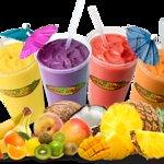 Real fruit, juices & non-fat yogurt