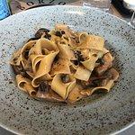 Mushroom with Pasta main