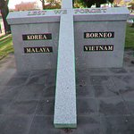 And the Borneo, Malaya, Korea & Vietnam