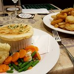 Meals at the pub are good value, delicious and well presented