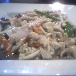 Moo Goo Gai Pan, pretty good and a very large serving. Will not order this one again tho