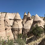 Tent Rocks from above