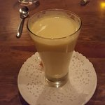 Zabbaglione - warm, rich and frothy but not too thick