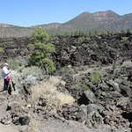 Lava flow and Sunset Crater