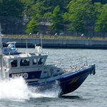 East River Route - NYPD protecting is all!