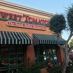 Exterior view of Sweet Tomatoes San Jose CA USA