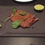 4 ounces of A5 Wagyu Beef medium rare