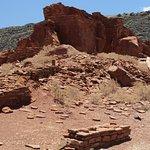 Trail through ruins