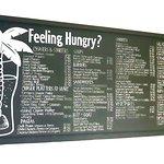 Feeling Hungry? Nadi Farmers Bistro black board menu