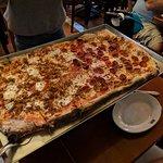 A half-meter of pizza!