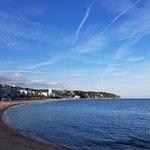 Beach area by Hotel Metropol, Lloret de Mar, Spain