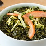 Palak Paneer (Spinach / Cheese Cubes)