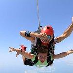 迪拜天空跳伞之旅照片