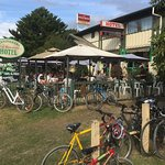 Cunninghams Hotel - easy to get to by car, bike or horse