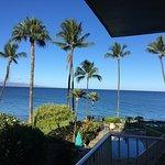 Great balcony views