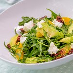 Wild Arugula and Goat Cheese Salad