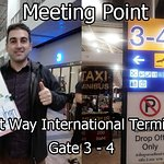 Meeting Point Exit Way Gate 3-4 International Terminal