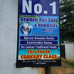 Dewmini Roti Shop Foto