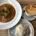 Masssman Curry and rice is nice.