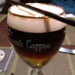 Отличный, согревающий кофе по Ирландски.