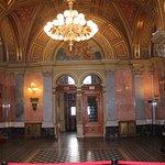 Inside the beautiful Opera House