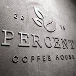 Logo of Percent Coffee House