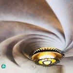 swirling ceiling