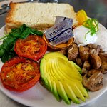 Vegetarian Big Breakfast