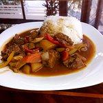 Teletina sa krompirom i rižom (Veal with potatoes and rice)