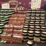 Chocolates at the shop