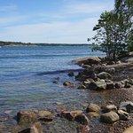 Beautiful rocky shorelines