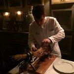 Ham carving!