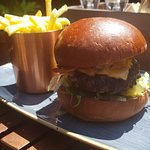 Home Cottage Burger - HUGE and yummy!