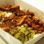 Singapore Braised Meat ( Belly pork ) Rice