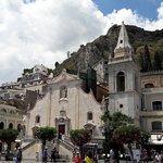 Piazza IX Aprile - the church